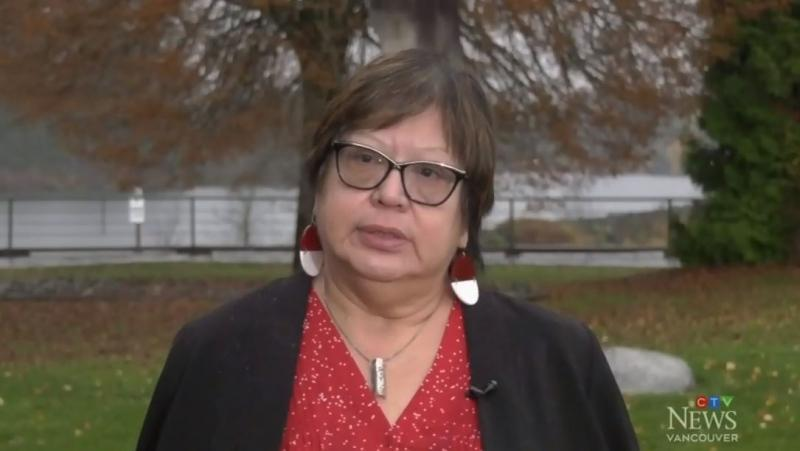 "Judith Sayers, president of the Nuu-chah-nulth Tribal Council, is pictured. She says the discovery of the COVID-19 case is a ""critical situation."": Nov. 17, 2019 (CTV News)"