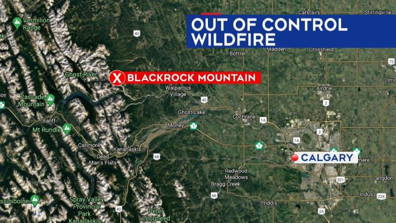 The fire was first discovered near Blackrock Mountain at about 4 p.m. on Sept. 4.