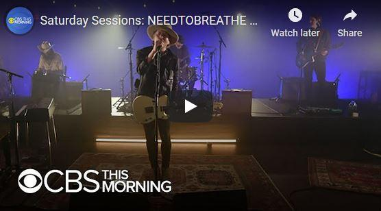 Needtobreathe Saturday Sessions
