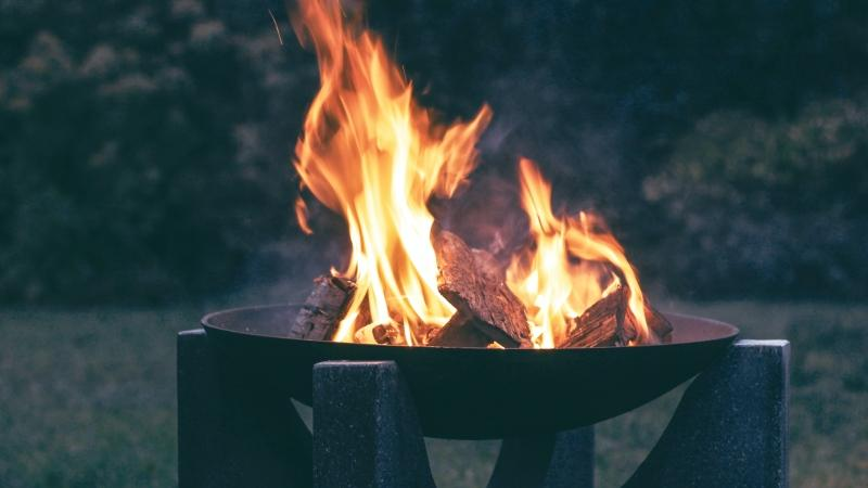 Fire pits are expected to be among this fall's hot sellers. (Pexels)