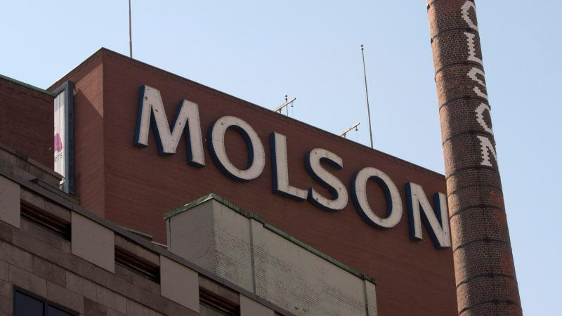 The Molson Coors brewery is seen Wednesday, June 3, 2015 in Montreal. (Ryan Remiorz/THE CANADIAN PRESS)