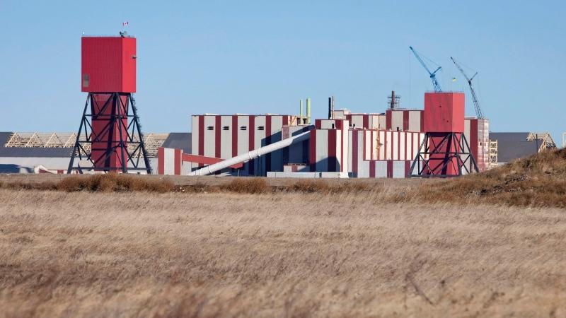 The exterior of the PotashCorp's Rocanville potash plant is seen here on Wednesday Nov. 3, 2010 near Rocanville, Sask. Rocanville is approx. 250 kilometre's east of Regina. (THE CANADIAN PRESS/Troy Fleece)