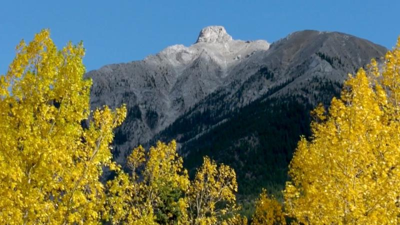A mountain feature near Canmore, Alta. will now be known as Bald Eagle Peak.