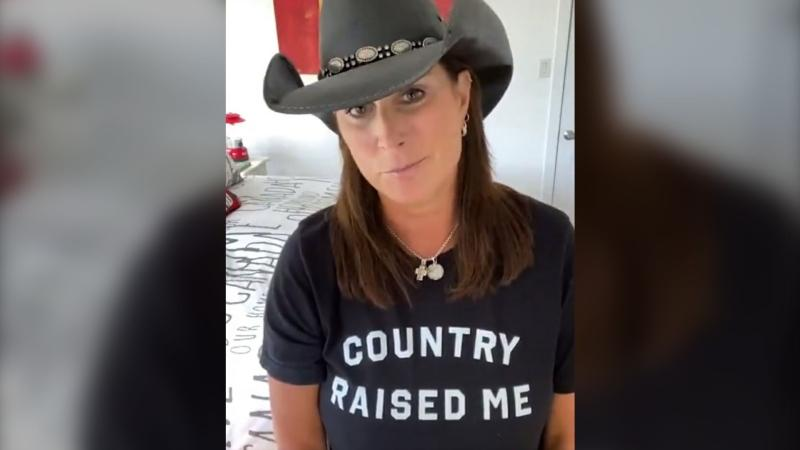 Award-winning country music star Terri Clark shared a message of support for Alberta's front-line workers Sunday. (Supplied)