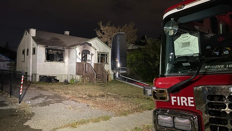An investigation is underway into the cause of a Tuesday morning fire in an abandoned home in the 7400 block of Ogden Rd. S.E.