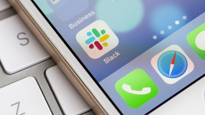 Performance issues on the messaging app, Slack, are making remote work difficult on October 5, 2020. (Shutterstock)