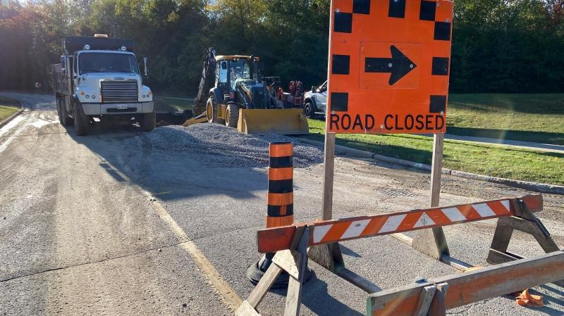 Dozens without water after watermain break in Kitchener