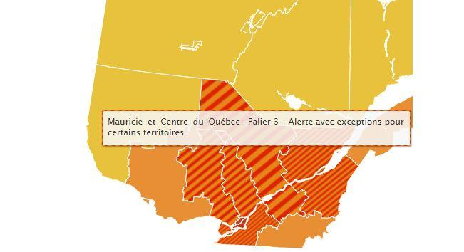Covid 19 Trois Rivieres Et Une Partie Du Centre Du Quebec Passent Au Rouge