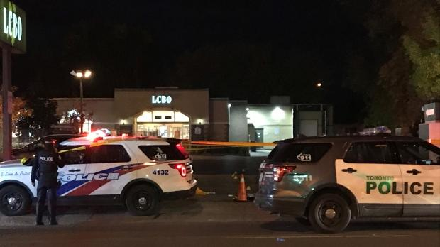 LCBO parking lot shooting