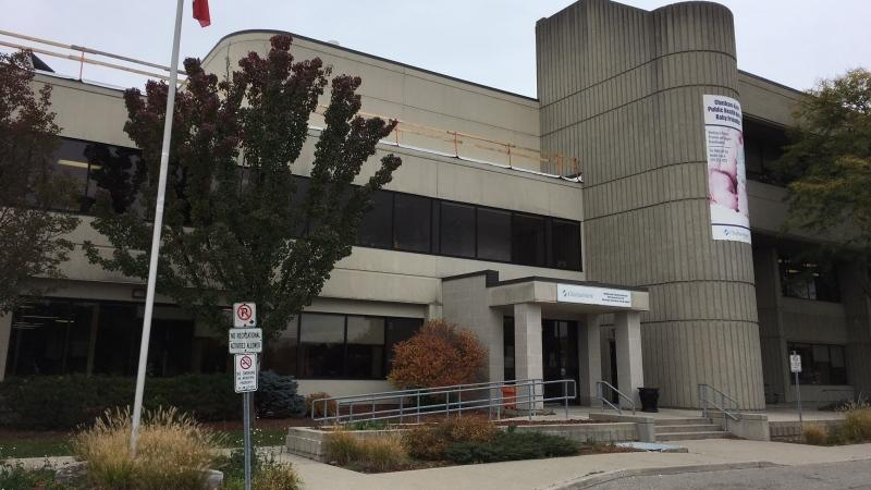 Chatham-Kent Public Health building in Chatham, Ont. on Tuesday, Oct. 27, 2020. (Chris Campbell / CTV Windsor)