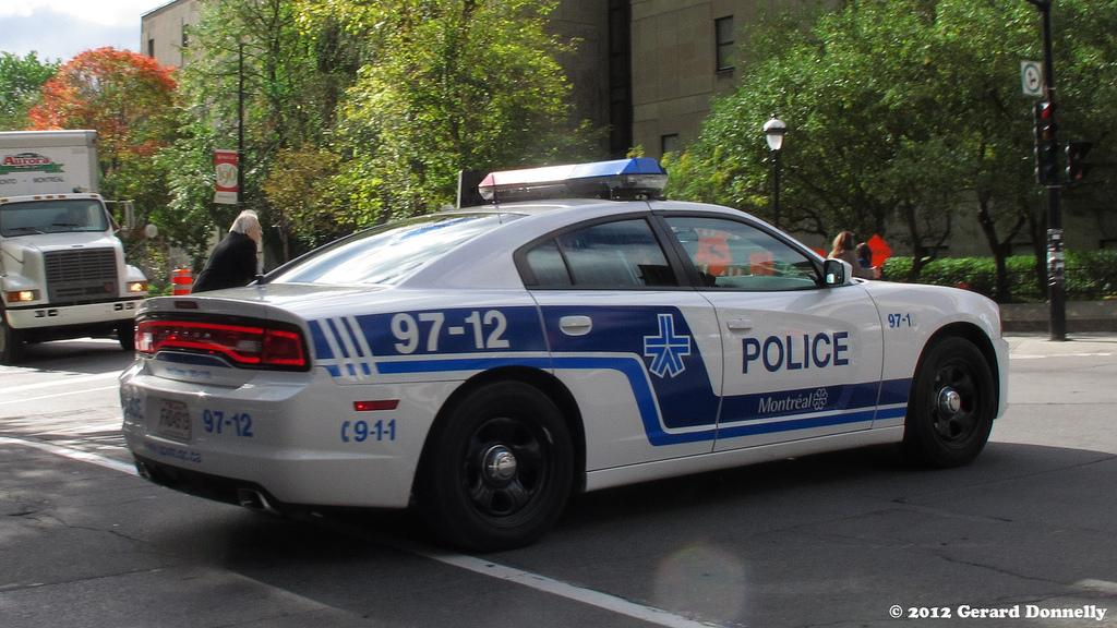 Montreal police 3 (Flickr)
