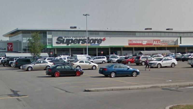 A worker at the Real Canadian Superstore in Airdrie, Alta. tested positive for COVID-19 on Nov. 1, 2020, Loblaw Companies Ltd. has confirmed. (File/Google Maps)