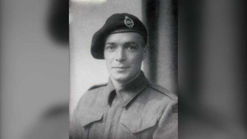 Trooper Henry George Johnston is shown in a DND handout photo. A grave of a Canadian soldier who died in the Second World War in Europe was identified as that of Trooper Henry George Johnston. THE CANADIAN PRESS/HO-Department of National Defence