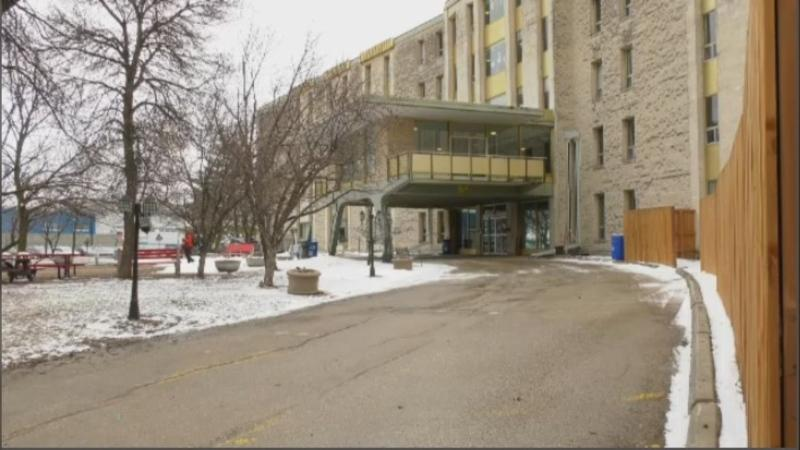 A resident of Poseidon Care Centre who had tested positive for COVID-19 has died according to a news release provided by the centre's management (Image: CTV News Winnipeg)