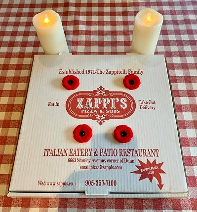 CKTB - NEWS - Zappi's Pizza poppies