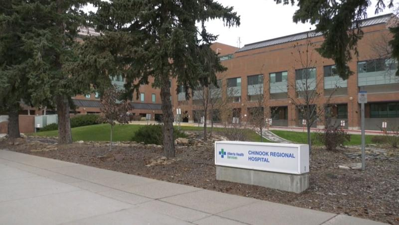 Three cases of COVID-19 have been found in workers at Lethbridge's Chinook Regional Hospital (file)