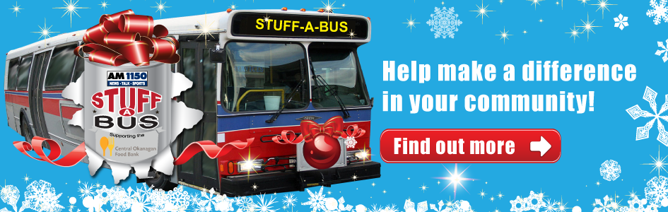 AM 1150 - Stuff a Bus - Front Page Banner