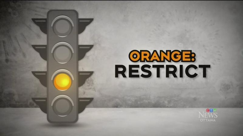 Code Orange Eastern Ontario Health Unit Joins Ottawa In The Orange Restrict Level For Covid 19 Restrictions
