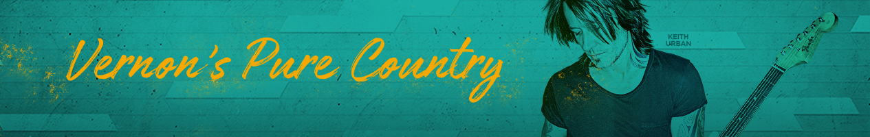 Pure Country 105.7 - Keith Urban Front Page Banner
