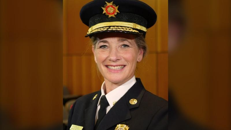 Nanaimo fire chief Karen Fry will soon become fire chief of Vancouver Fire Rescue: (City of Vancouver/Twitter)