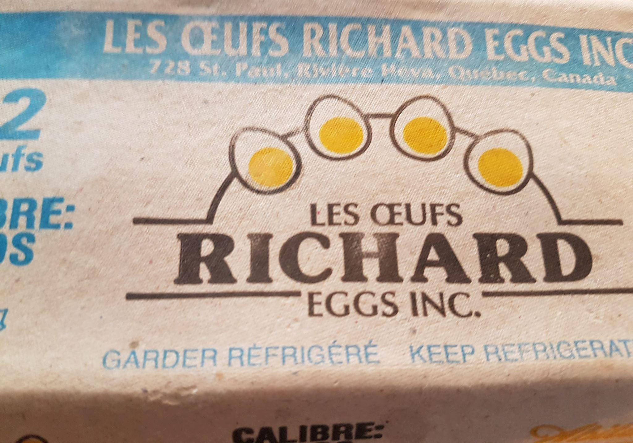 Oeufs Richard