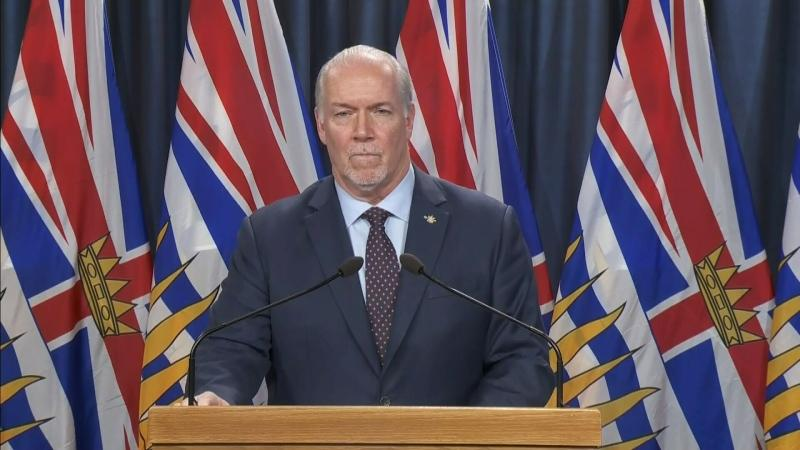 B C Premier Says Government Determined To Deliver Covid 19 Relief Payments