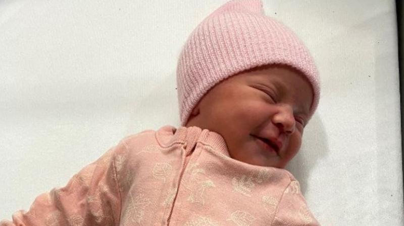 Baby Girl Gabriel, the first baby born in London, Ont. on Jan. 1, 2021. (Supplied)