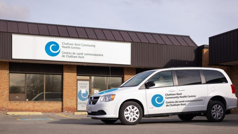 New van Chatham-Kent Community Health Centres received to assist with home visits and outreach services. (courtesy Chatham-Kent Community Health Centres)