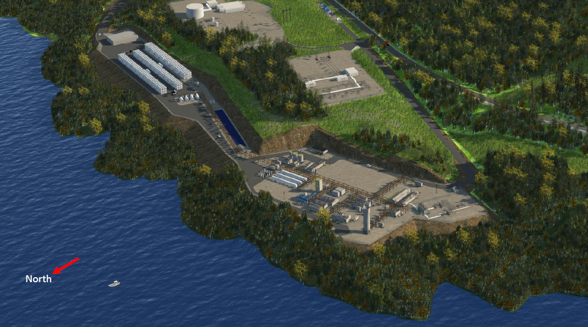port edward lng image