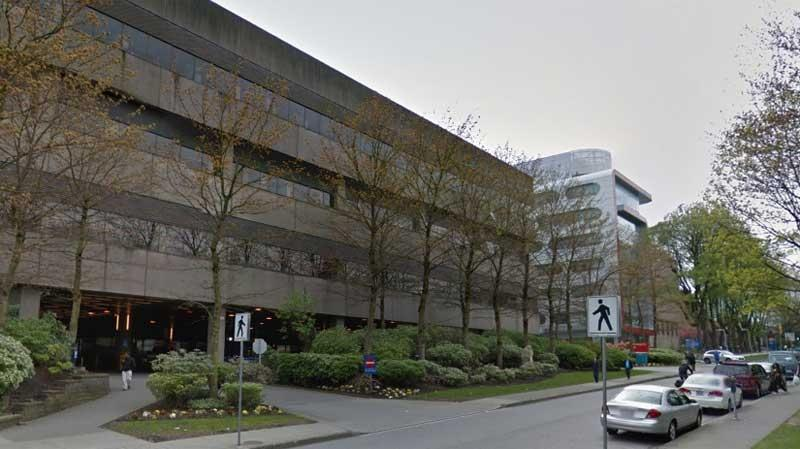 The entrance to the emergency department of Vancouver General Hospital is seen in this undated Google Maps image.