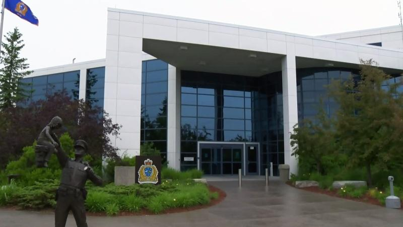 Waterloo Regional Police headquarters are pictured on Wednesday, June 15, 2016.
