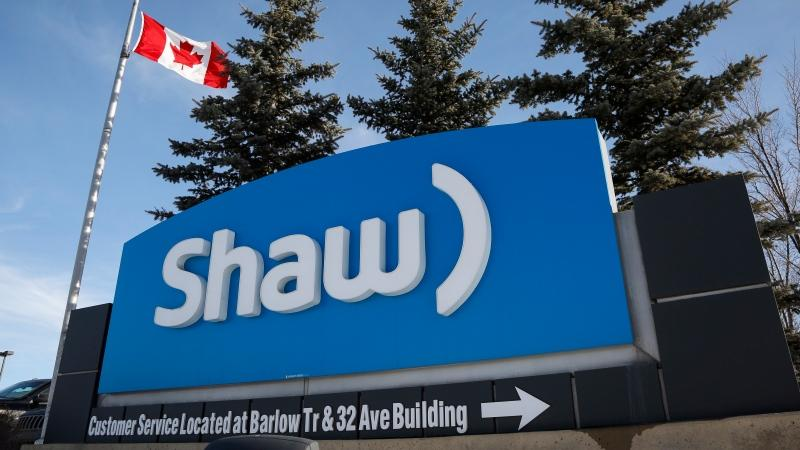 A Shaw Communications sign at the company's headquarters in Calgary, Wednesday, Jan. 14, 2015. Shaw Communications Inc. is selling its stake in Corus Entertainment Inc. for $548 million. THE CANADIAN PRESS/Jeff McIntosh