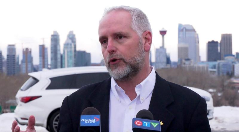 Zane Novak, the former head of Calgary's Kerby Centre and the current president of ZKO Oilfield Industries, announced his candidacy for mayor.