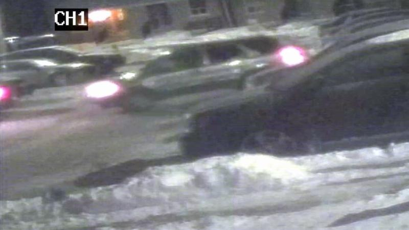 An SUV is seen in an image shared by Waterloo regional police, who are still investigating a murder of a Cambridge man from two years ago.