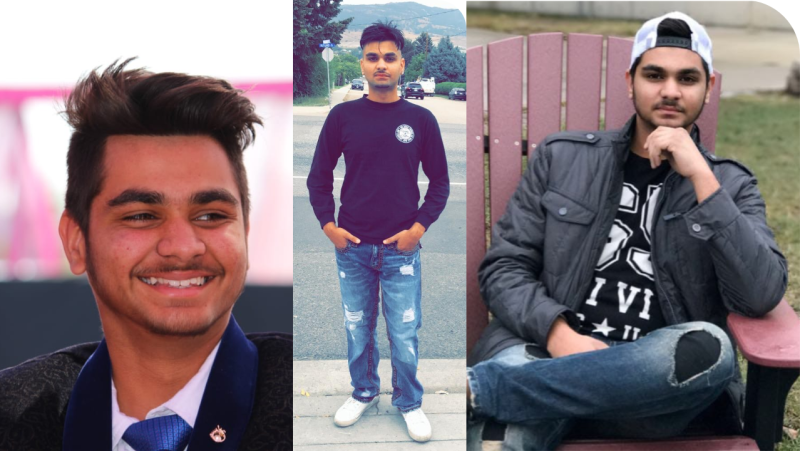 Twenty-two-year-old Arshdeep Singh was found dead from gunshot wounds inside a vehicle in the 5300 block of 207 Street on Jan. 26, according to the Lower Mainland's Integrated Homicide Investigation Team. (IHIT)