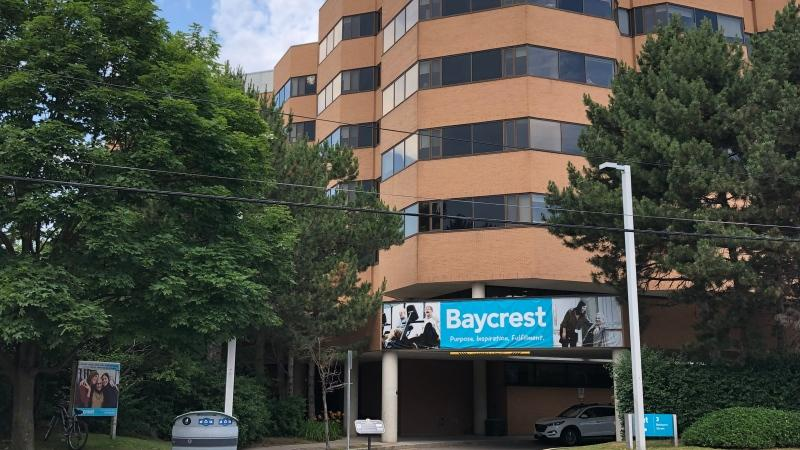 Baycrest Hospital in North York is pictured. (Heather Wright /CTV News Toronto)