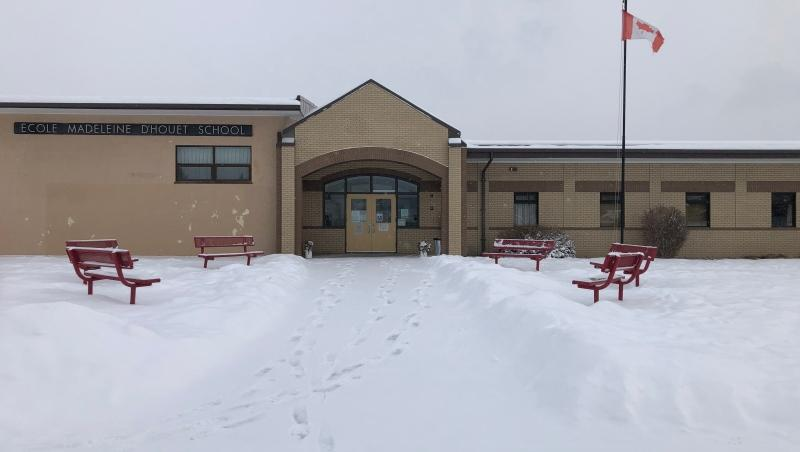 Madeleine d'Houet School in northwest Calgary notified parents Friday afternoon that the school will be moving to online learning for the next two weeks because of two confirmed COVID-19 cases.