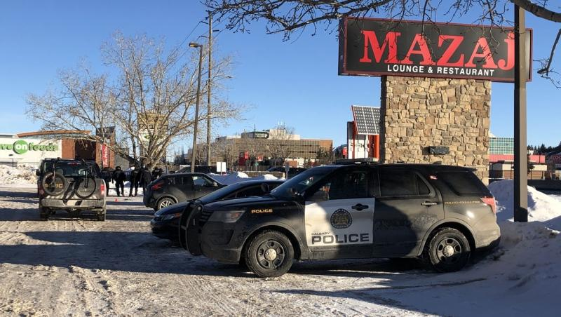 The Homicide Unit is investigating a suspicious death in the parking lot of the Mazaj Lounge and Restaurant on Macleod Trail.