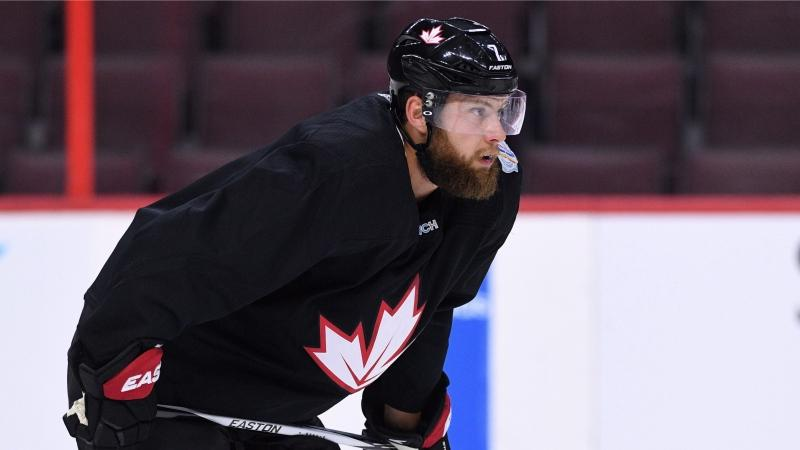 Team Canada's Jake Muzzin practices in Ottawa on Wednesday, Sept. 7, 2016. The two-week World Cup tournament, featuring more than 150 of the best players in the NHL, starts Saturday Sept. 17, 2016. (THE CANADIAN PRESS/Sean Kilpatrick)