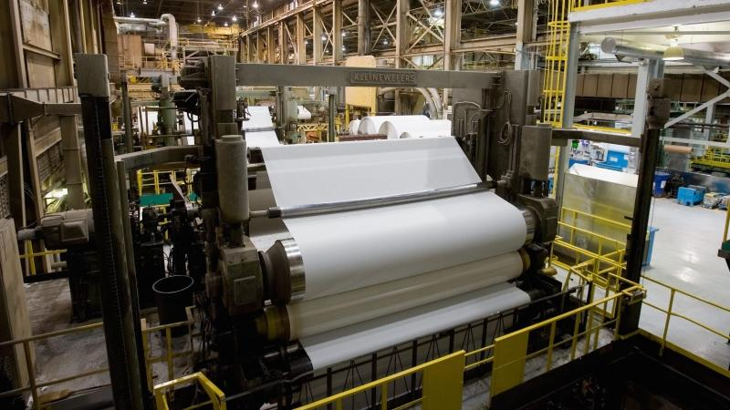 The Kruger paper mill in Trois Rivieres Que. is one of two that received a health dose of investment from the Quebec government. THE CANADIAN PRESS/Jacques Boissinot