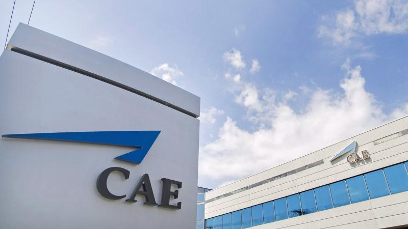 CAE corporate headquarters in Montreal. (Canadian Press file photo)