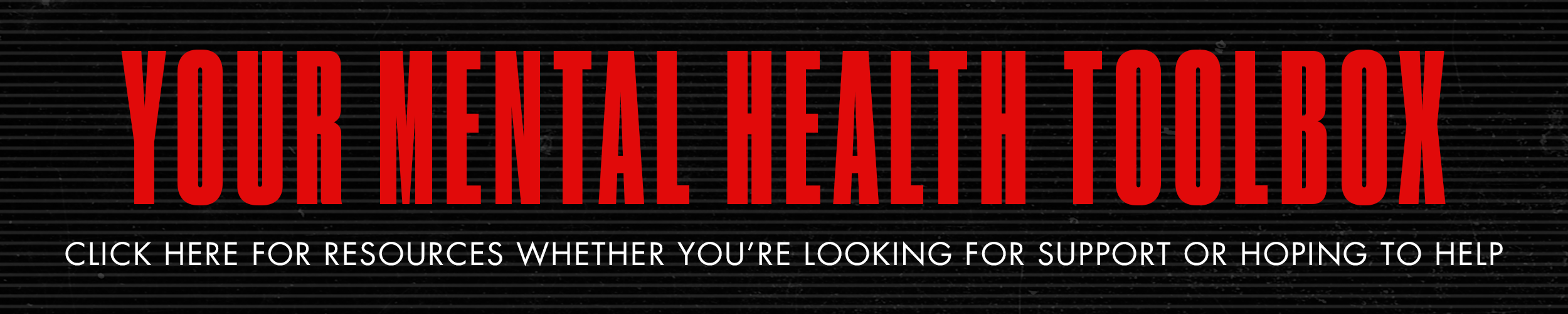 Mental Health Toolbox Banner