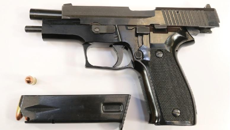 Gun seized by police suspected in North Bay shooting. (North Bay Police Service)