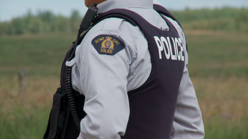 An RCMP officer is pictured in this file photo.