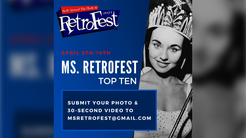 Ms. RetroFest poster. (courtesy Historic Downtown Chatham BIA)
