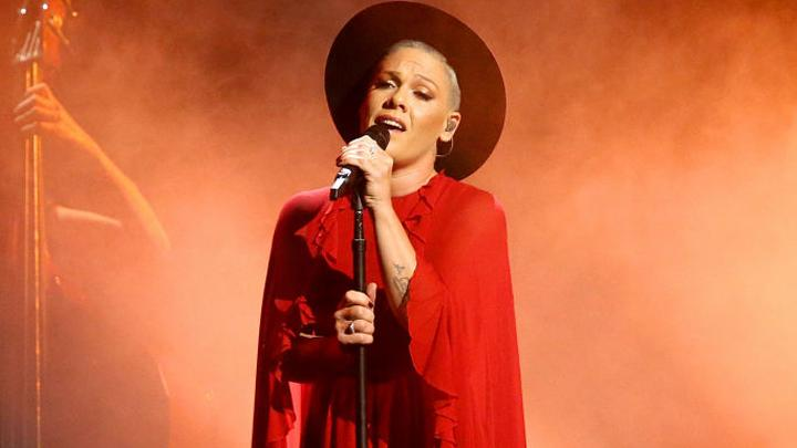 image for P!nk Premieres 'All I Know So Far'