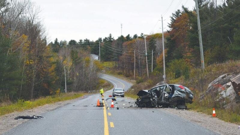 Two teens were killed and another two badly injured in an October 2017 rollover crash.