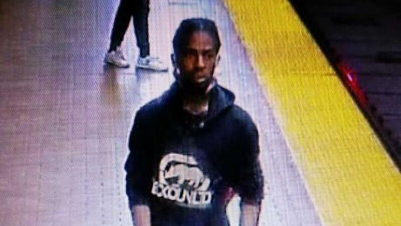 Police have released this photograph of a suspect wanted in connection with an assault at Spadina Station.