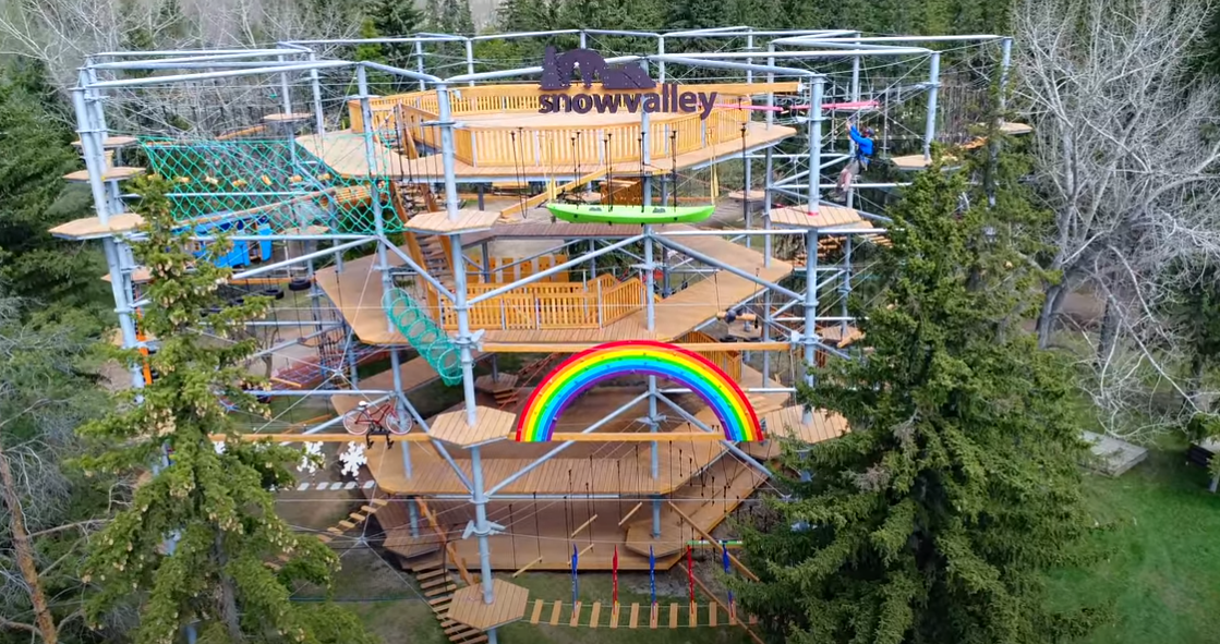 Snow Valley Aerial Park Opens For The Season This Week