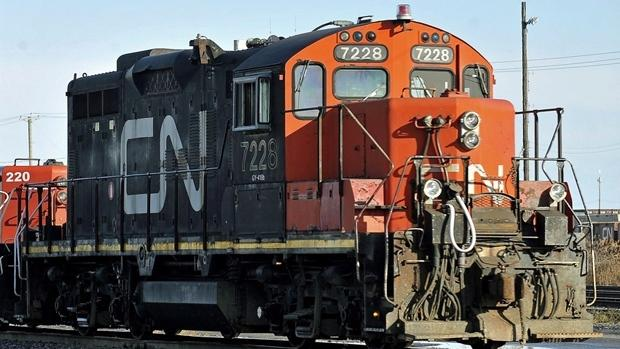 Picture of a CN train